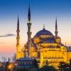 Mezquita Azul Iluminada